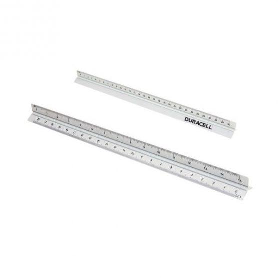 Gadget aziendali scalimetro in alluminio personalizzabili