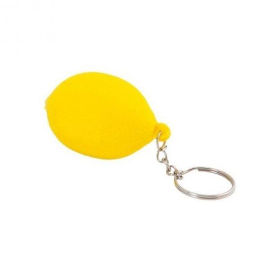 Gadget aziendali portachiavi limone antistress personalizzabili