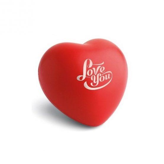 Gadget aziendali cuore antistress personalizzabili