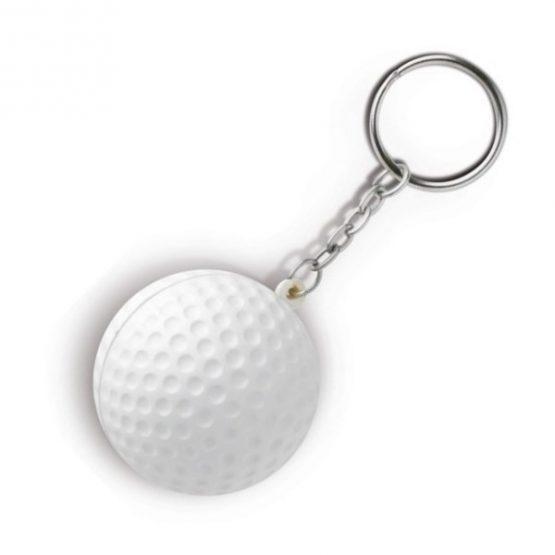 Gadget aziendali portachiavi pallina golf antistress personalizzabili