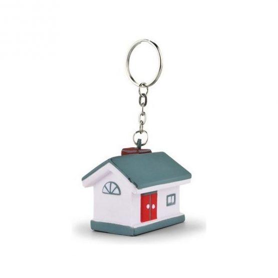 Gadget aziendali portachiavi casa antistress personalizzabili