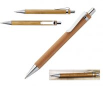 Gadget ed Idee aziendali personalizzabili penna a sfera in bamboo