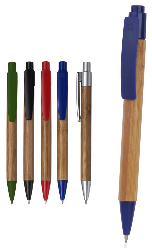 Gadget ed Idee aziendali personalizzabili penna in bamboo