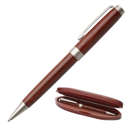 Gadget ed Idee aziendali personalizzabili penna in legno con astuccio