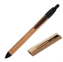 Gadget ed Idee aziendali personalizzabili penne a sfera in bambù