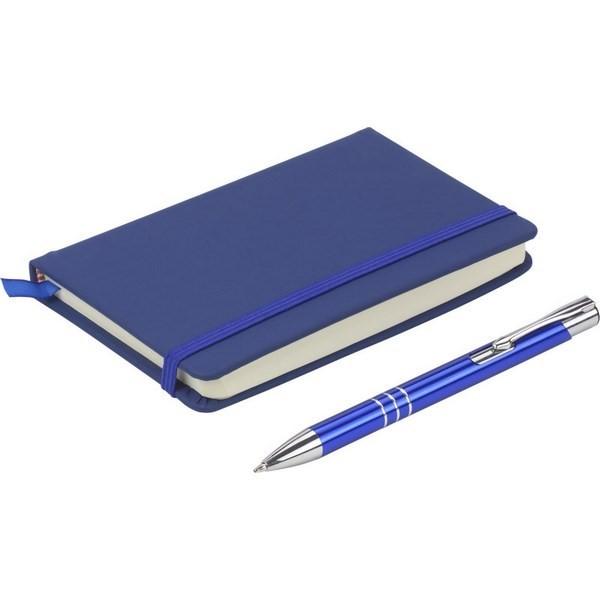 Gadget aziendali set taccuino con penna personalizzati
