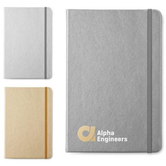 Gadget aziendali quaderno con elastico personalizzati
