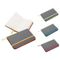 Gadget aziendali notes con elastico personalizzati