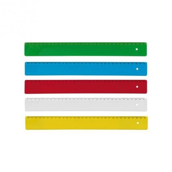 Gadget aziendali righello in plastica personalizzabili