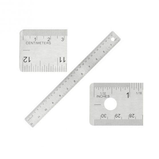 Gadget aziendali righello in acciaio personalizzabili