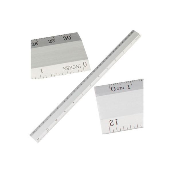 Gadget aziendali righello in alluminio personalizzabili