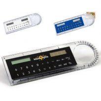 Gadget aziendali righello calcolatrice personalizzabili