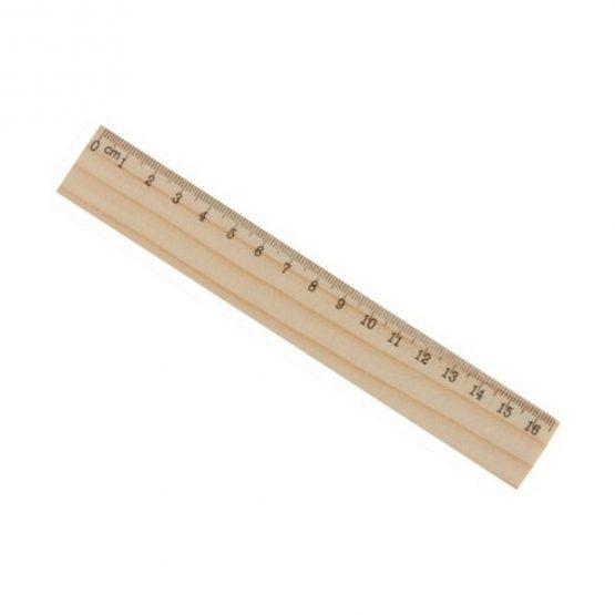 Gadget aziendali righello in legno personalizzabili