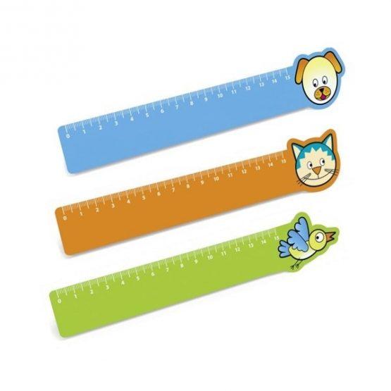 Gadget aziendali righello animali personalizzabili