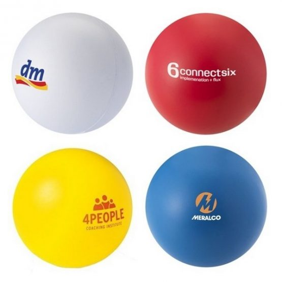 Gadget pallina antistress con stampa logo personalizzabile