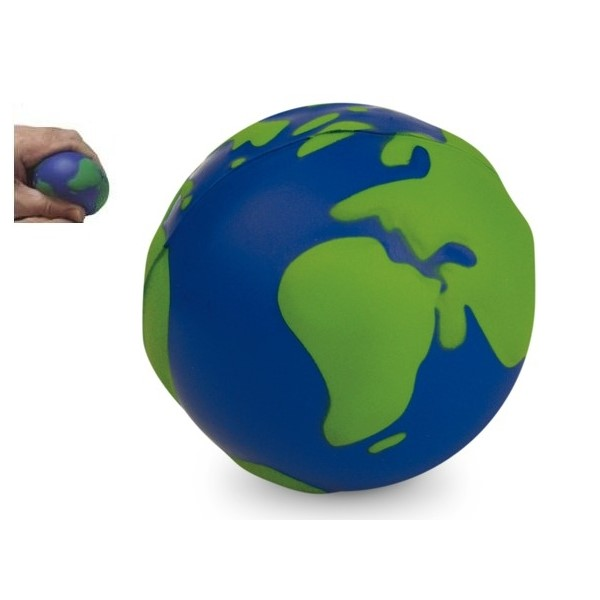Gadget aziendali globo antistress personalizzabili
