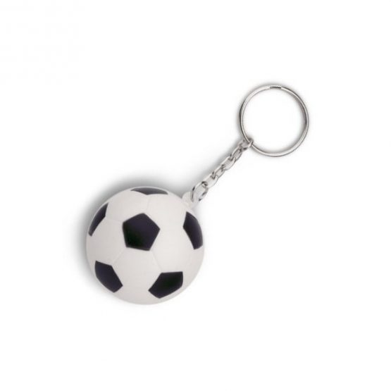 Gadget aziendali portachiavi football antistress personalizzabili