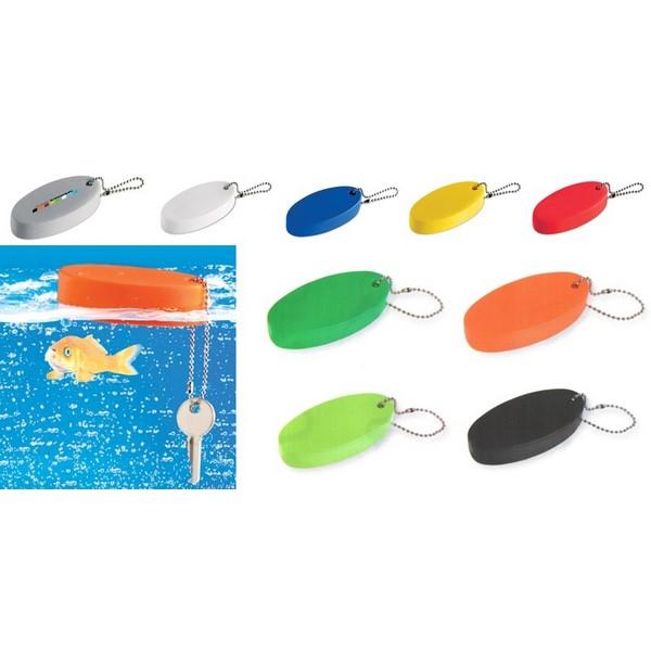 Gadget aziendali portachiavi galleggiante antistress personalizzabili