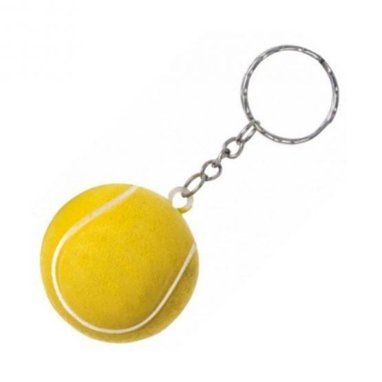 Gadget aziendali portachiavi palla da tennis antistress personalizzabili