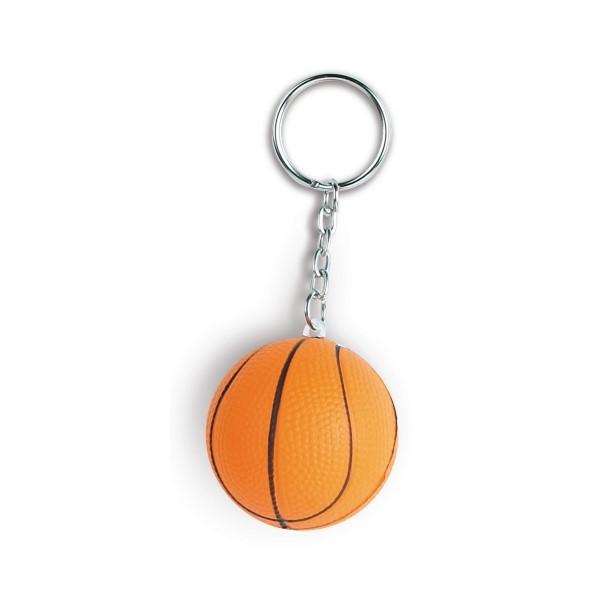 Gadget aziendali portachiavi palla basket antistress personalizzabili