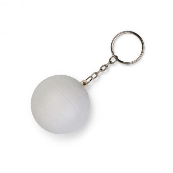 Gadget aziendali portachiavi pallina da volley antistress personalizzabili