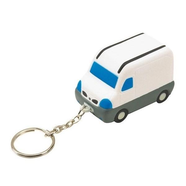 Gadget aziendali portachiavi furgone antistress personalizzabili