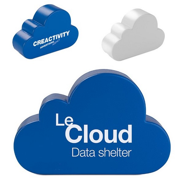 Gadget aziendali nuvola antistress personalizzabili