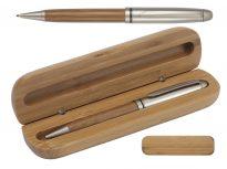 Gadget Aziendale Penna in Bamboo Con Astuccio personalizzabile