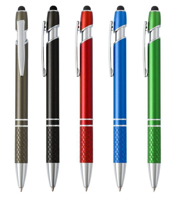 Gadget Aziendale Penna A Sfera Touch in alluminio personalizzabile