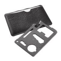 gadget promozionale multifunzioni in acciaio inox da viaggio personalizzabile con logo