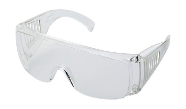 art. 1909 occhiali pubblicitari trasparenti di protezione personalizzabili con logo gradito gadget promozionale per la sicurezza sul lavoro