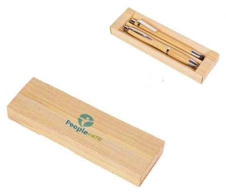 art. 2337 astuccio in cartoncino promozionale per due penne personalizzabile con stampa pubblicitaria del logo